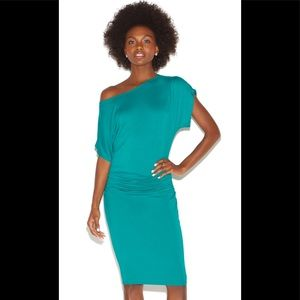 NWT Shoe Dazzle Off the Shoulder Knit Dress